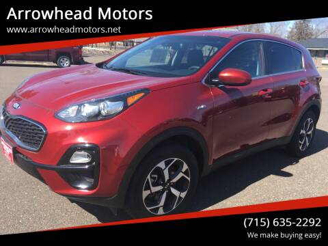 2020 Kia Sportage for sale at Arrowhead Motors in Spooner WI