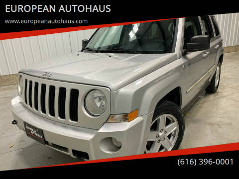 2010 Jeep Patriot for sale at EUROPEAN AUTOHAUS in Holland MI