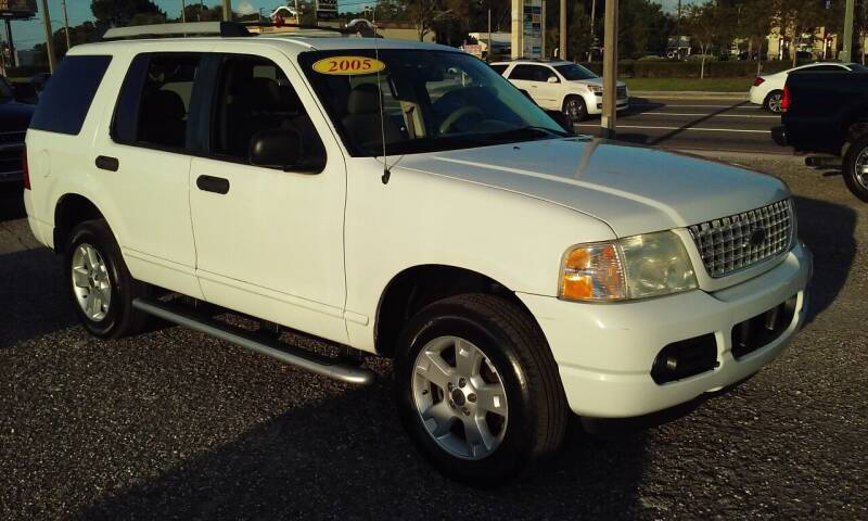 2005 Ford Explorer for sale at Pinellas Auto Brokers in Saint Petersburg FL