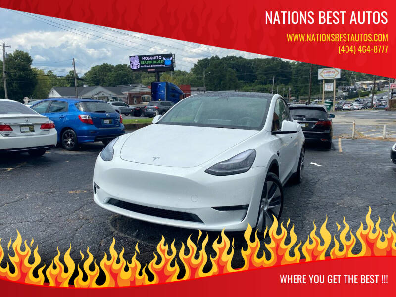 2021 Tesla Model Y for sale at Nations Best Autos in Decatur GA