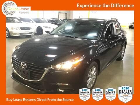 2018 Mazda MAZDA3 for sale at Dallas Auto Finance in Dallas TX