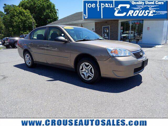 2007 Chevrolet Malibu for sale at Joe and Paul Crouse Inc. in Columbia PA