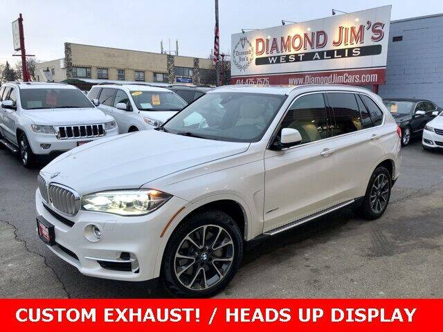 2017 BMW X5 for sale at Diamond Jim's West Allis in West Allis WI