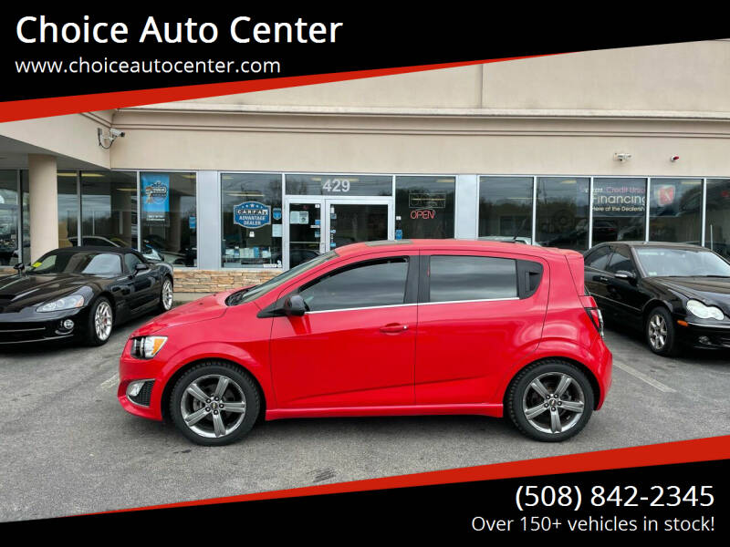 2013 Chevrolet Sonic for sale at Choice Auto Center in Shrewsbury MA