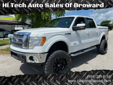 2011 Ford F-150 for sale at Hi Tech Auto Sales Of Broward in Hollywood FL