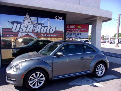 2014 Volkswagen Beetle for sale at USA Auto Inc in Mesa AZ