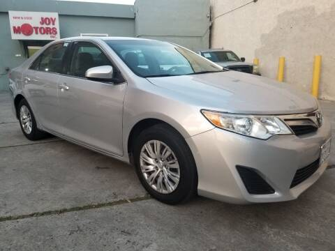 2014 Toyota Camry for sale at Joy Motors in Los Angeles CA