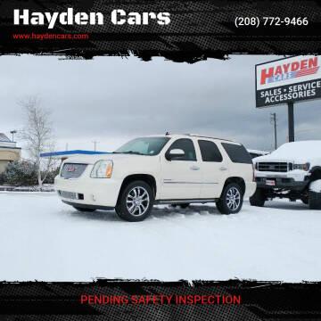2013 GMC Yukon for sale at Hayden Cars in Coeur D Alene ID