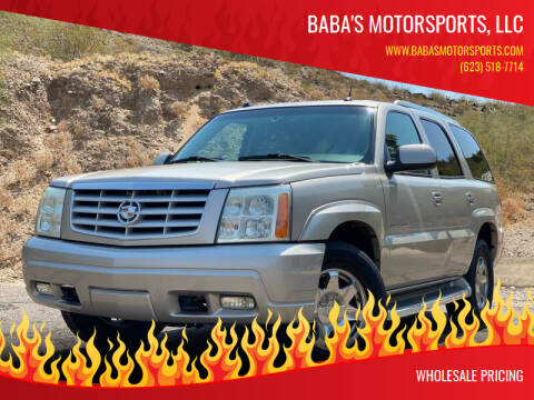 2005 Cadillac Escalade for sale at Baba's Motorsports, LLC in Phoenix AZ