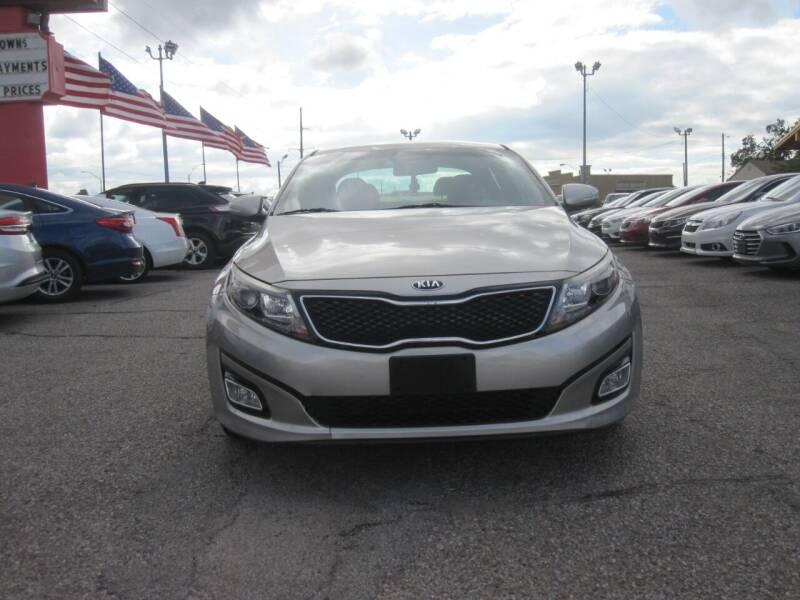 2015 Kia Optima for sale at T & D Motor Company in Bethany OK