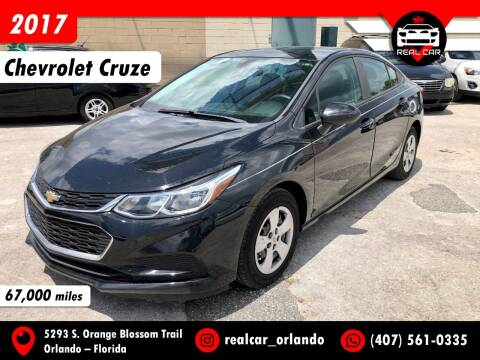 2017 Chevrolet Cruze for sale at Real Car Sales in Orlando FL