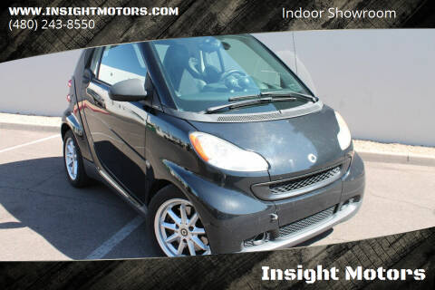 2009 Smart fortwo for sale at Insight Motors in Tempe AZ