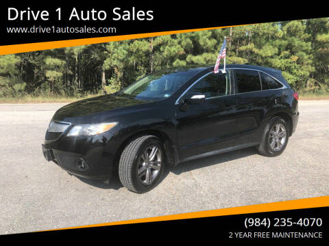 2013 Acura RDX for sale at Drive 1 Auto Sales in Wake Forest NC