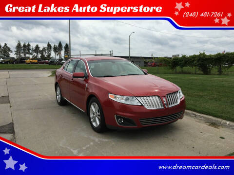 2009 Lincoln MKS for sale at Great Lakes Auto Superstore in Pontiac MI