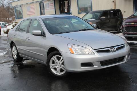 2007 Honda Accord for sale at Dynamics Auto Sale in Highland IN