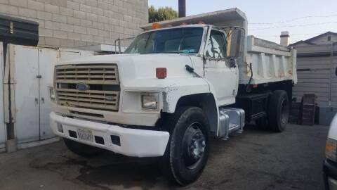 1990 Ford F-750 Super Duty for sale at Vehicle Center in Rosemead CA