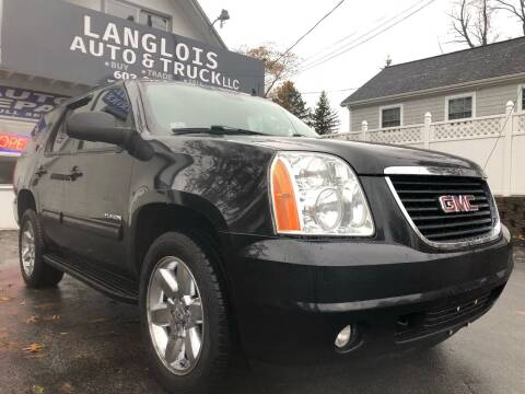 2011 GMC Yukon for sale at Langlois Auto and Truck LLC in Kingston NH