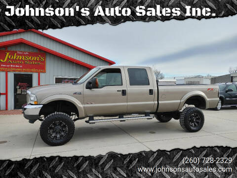 2004 Ford F-350 Super Duty for sale at Johnson's Auto Sales Inc. in Decatur IN