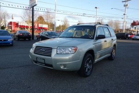 2006 Subaru Forester for sale at Leavitt Auto Sales and Used Car City in Everett WA