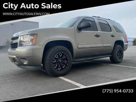2007 Chevrolet Tahoe for sale at City Auto Sales in Sparks NV
