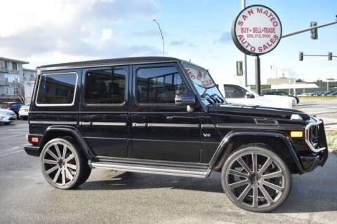 2013 Mercedes-Benz G-Class for sale at San Mateo Auto Sales in San Mateo CA