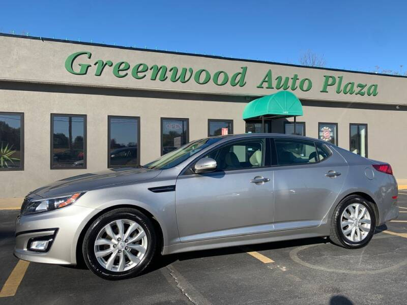 2014 Kia Optima for sale at Greenwood Auto Plaza in Greenwood MO