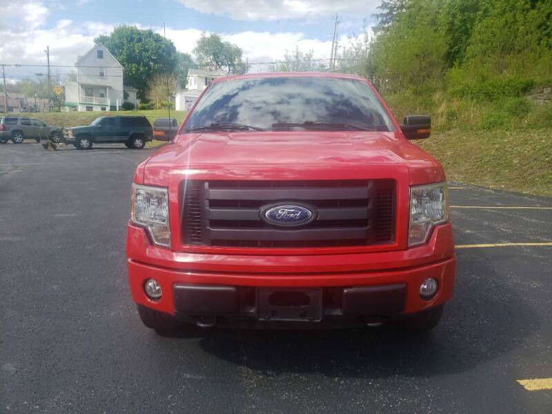 2010 Ford F-150 for sale at KANE AUTO SALES in Greensburg PA