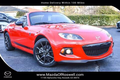 2014 Mazda MX-5 Miata for sale at Mazda Of Roswell in Roswell GA