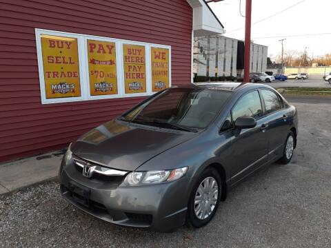 2009 Honda Civic for sale at Mack's Autoworld in Toledo OH