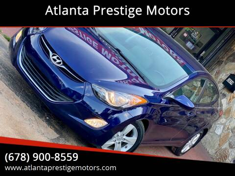 2013 Hyundai Elantra for sale at Atlanta Prestige Motors in Decatur GA