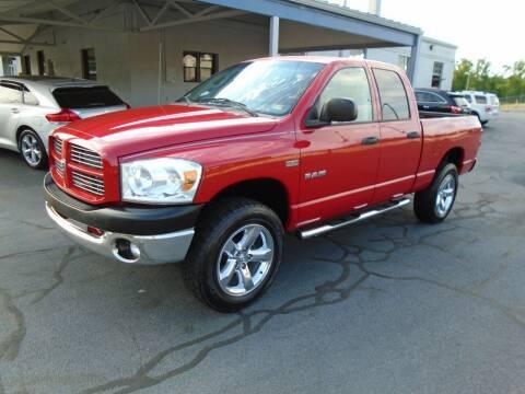 2008 Dodge Ram Pickup 1500 for sale at PIEDMONT CUSTOM CONVERSIONS USED CARS in Danville VA