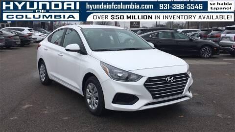 2021 Hyundai Accent for sale at Hyundai of Columbia Con Alvaro in Columbia TN