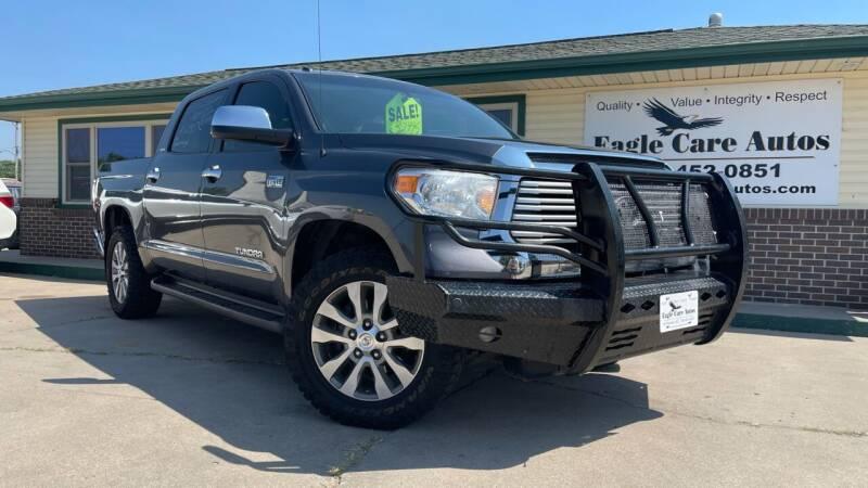 2015 Toyota Tundra for sale at Eagle Care Autos in Mcpherson KS