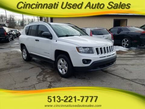 2014 Jeep Compass for sale at Cincinnati Used Auto Sales in Cincinnati OH
