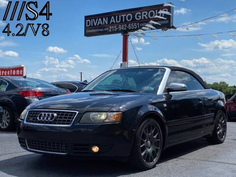 2006 Audi S4 for sale at Divan Auto Group in Feasterville PA