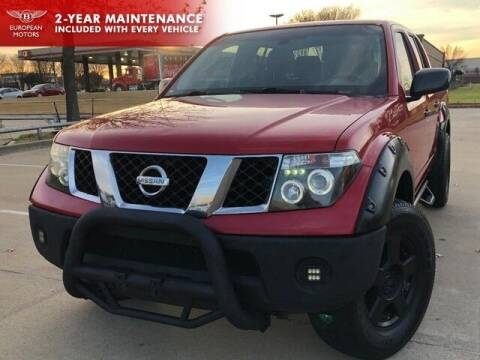 2007 Nissan Frontier for sale at European Motors Inc in Plano TX