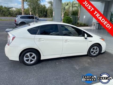 2014 Toyota Prius for sale at PHIL SMITH AUTOMOTIVE GROUP - Toyota Kia of Vero Beach in Vero Beach FL