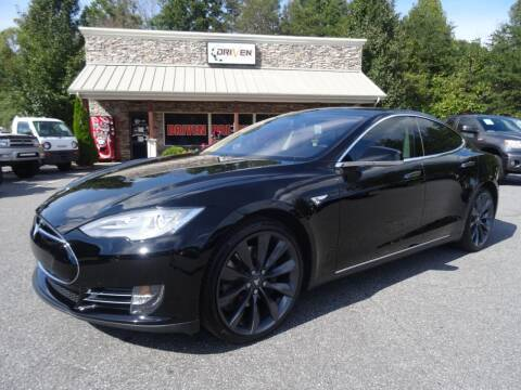 2014 Tesla Model S for sale at Driven Pre-Owned in Lenoir NC