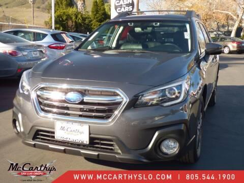2018 Subaru Outback for sale at McCarthy Wholesale in San Luis Obispo CA