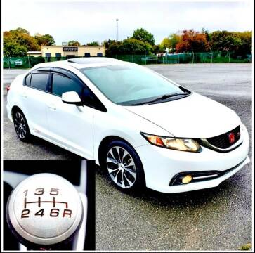2013 Honda Civic for sale at Apex Autos Inc. in Fredericksburg VA