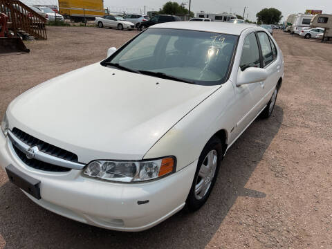 2001 Nissan Altima for sale at PYRAMID MOTORS - Fountain Lot in Fountain CO