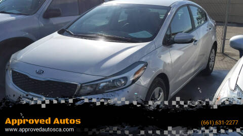 2017 Kia Forte for sale at Approved Autos in Bakersfield CA
