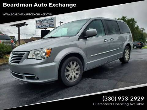 2015 Chrysler Town and Country for sale at Boardman Auto Exchange in Youngstown OH