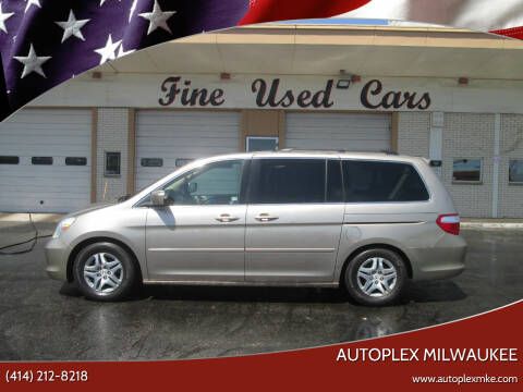 2007 Honda Odyssey for sale at Autoplex Milwaukee in Milwaukee WI