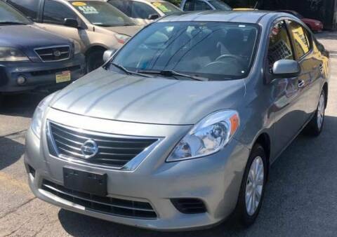 2012 Nissan Versa for sale at Centerpoint Motor Cars in San Antonio TX
