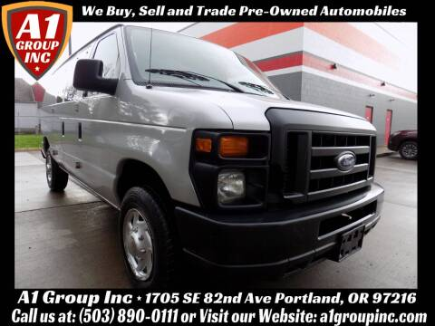 2009 Ford E-Series Cargo for sale at A1 Group Inc in Portland OR