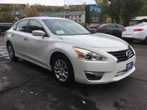 2015 Nissan Altima for sale at 4X4 Auto Sales in Durango CO