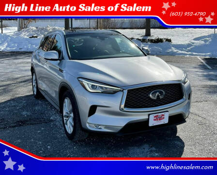 2019 Infiniti QX50 for sale at High Line Auto Sales of Salem in Salem NH