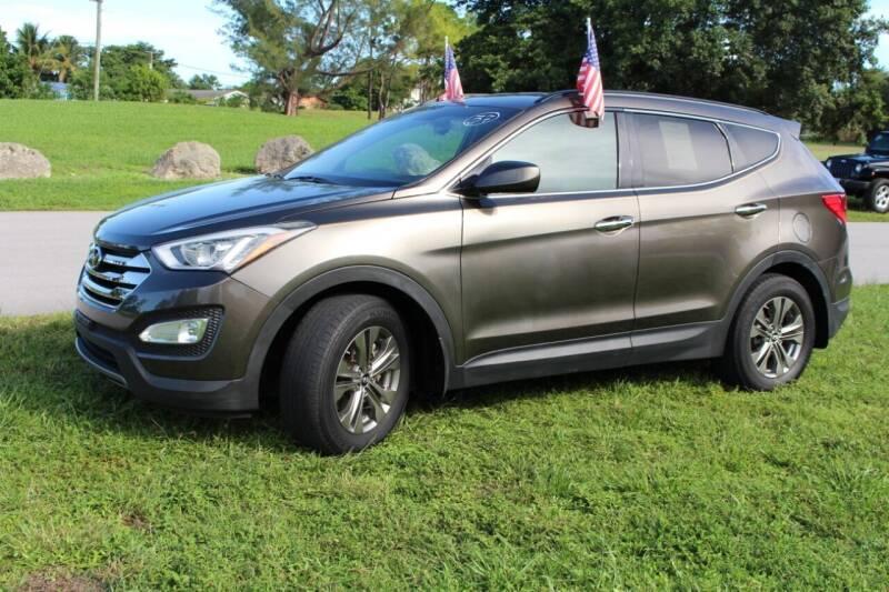 2014 Hyundai Santa Fe Sport for sale at CHASE MOTOR in Miami FL