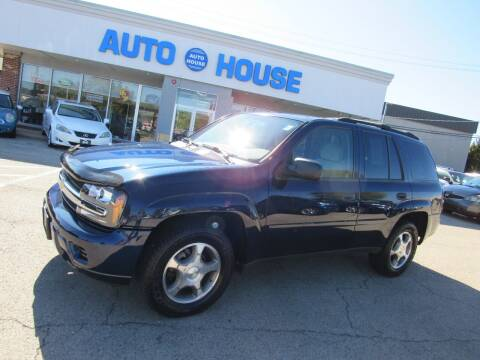 2008 Chevrolet TrailBlazer for sale at Auto House Motors in Downers Grove IL